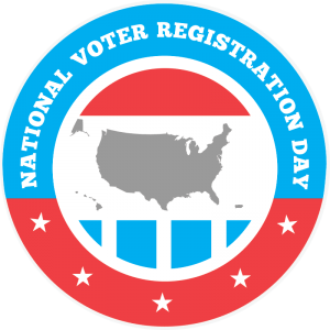 National US Voter Registration Day is September 24 - Sign Up Today!