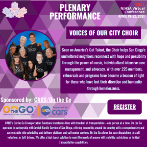 'Voices of Our City Choir Will Show The Network Who Has Talent! Join Sponsor CARS for the Closing Plenary on April 22nd