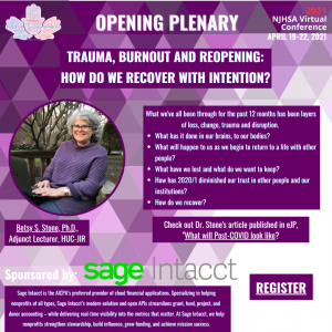 Betsy Stone Will Share Methods to Recover from COVID with Intention! Join Sponsor Sage Intacct for the Tuesday Plenary on April 20th.
